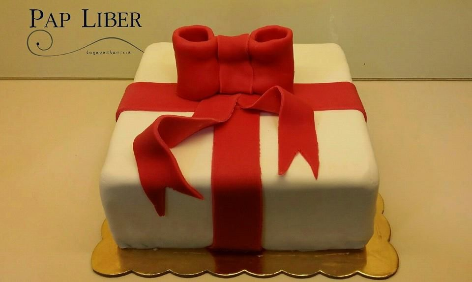 A Special Cake Gift For A Special Person Sugarpaste Sugarart