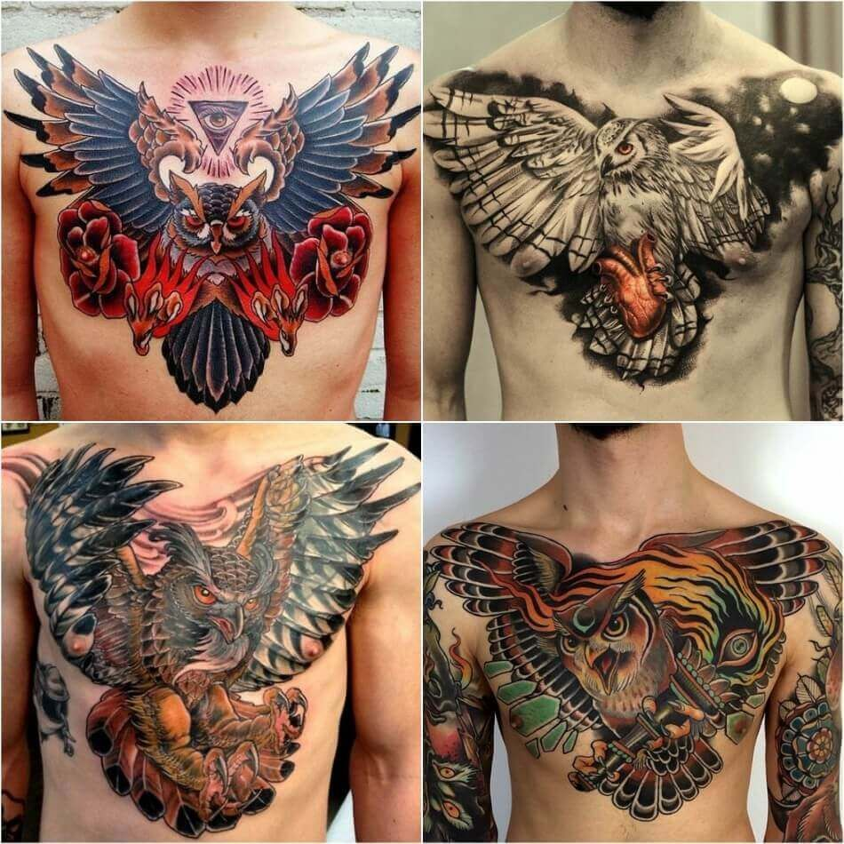 28+ Awesome Best chest tattoos small image HD