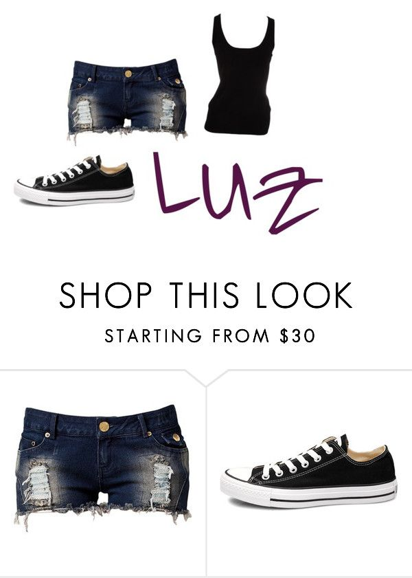 """ropa de Luz"" by biannilopez ❤ liked on Polyvore featuring Club L, Converse and Michael Kors"