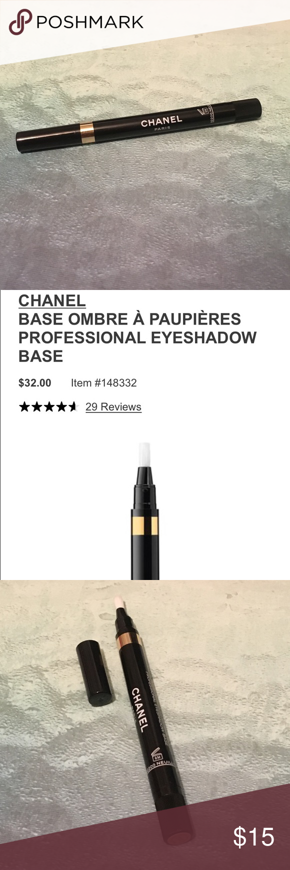 Chanel Eyeshadow Base in Beige NWOB New without box. Color
