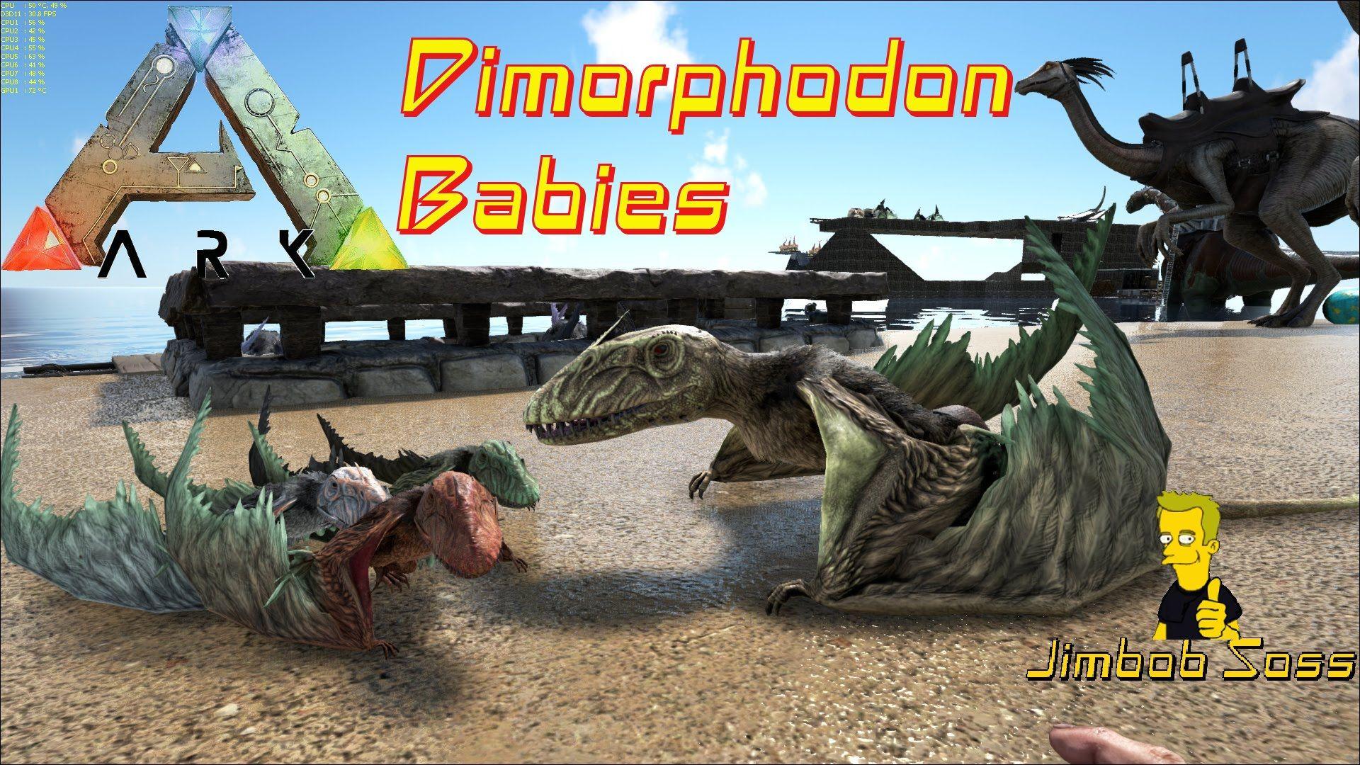 ARK Survival Evolved Dimorphodon Babies | dinos