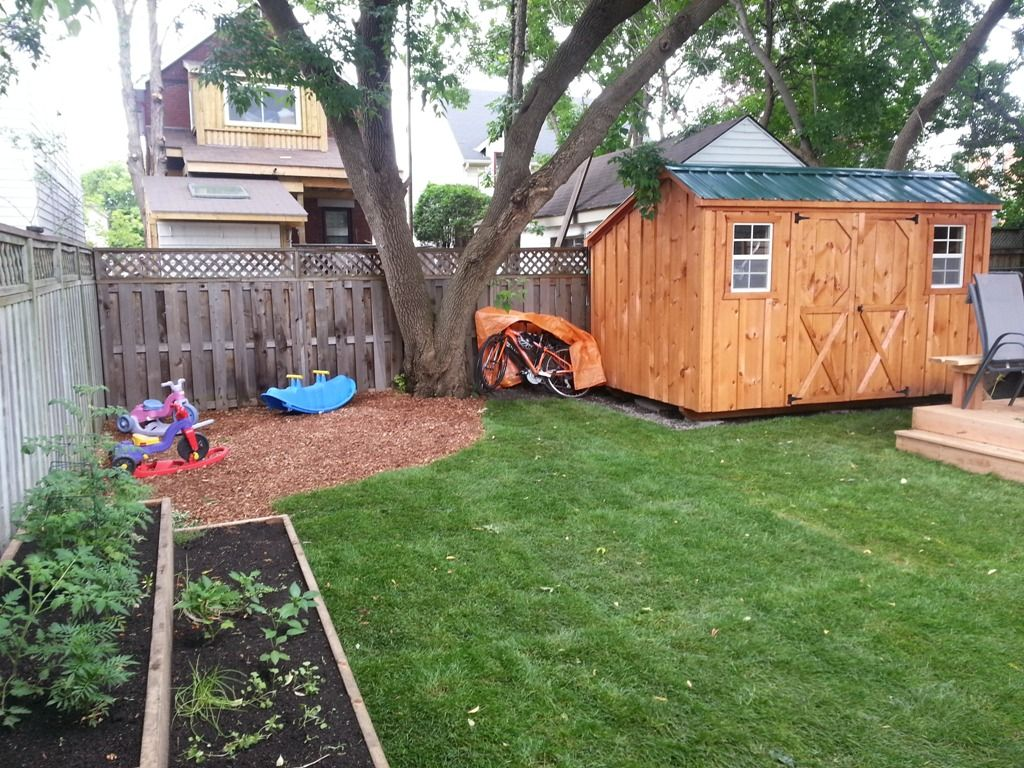 Backyard Makeover On a Dime