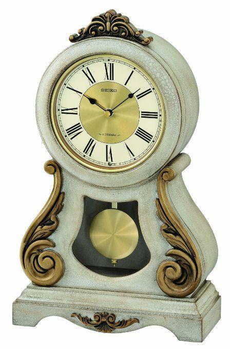 Seiko Qxw220blh Mantel Clock Watches Cogsworth