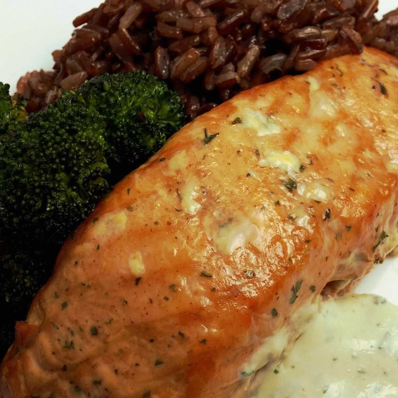 Bourbon Marinated Smoked Salmon In A Digital Smoker