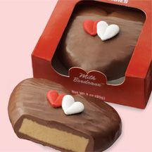Milk Chocolate Bordeaux Heart #Sees Candy is the best #chocolate!