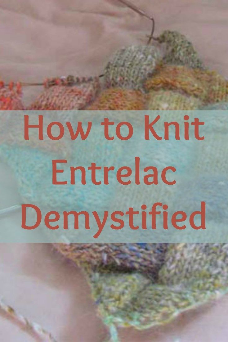 How to Knit Entrelac + 6 Free Patterns | Knit patterns, Patterns and ...