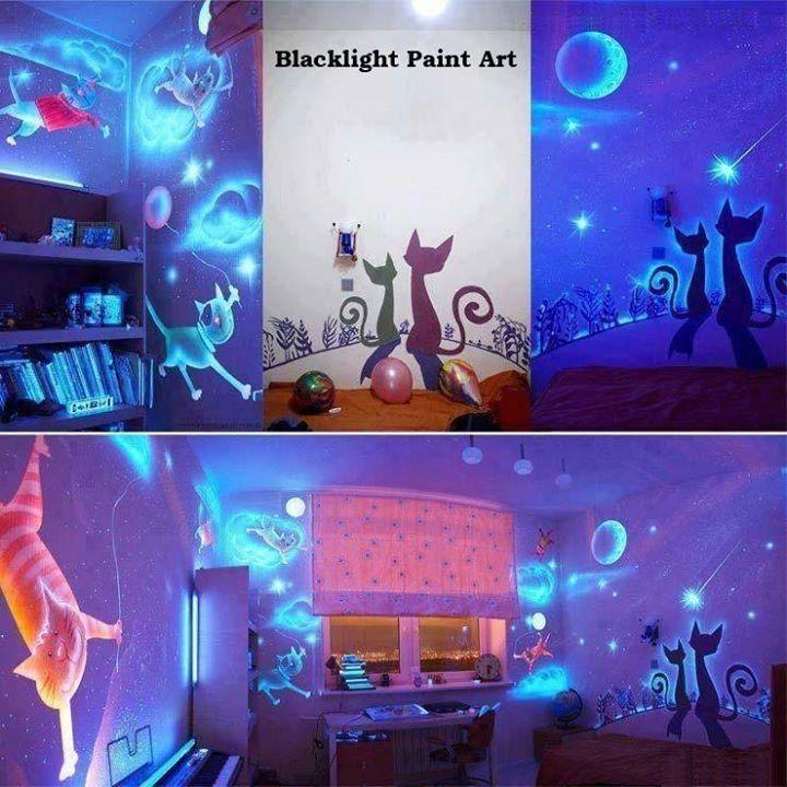 Backlight paint art