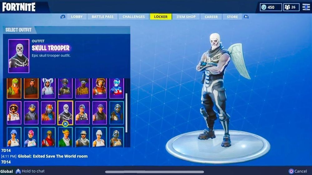 Fortnite Account HAS RARE SKINS (Xbox Gift Card Only
