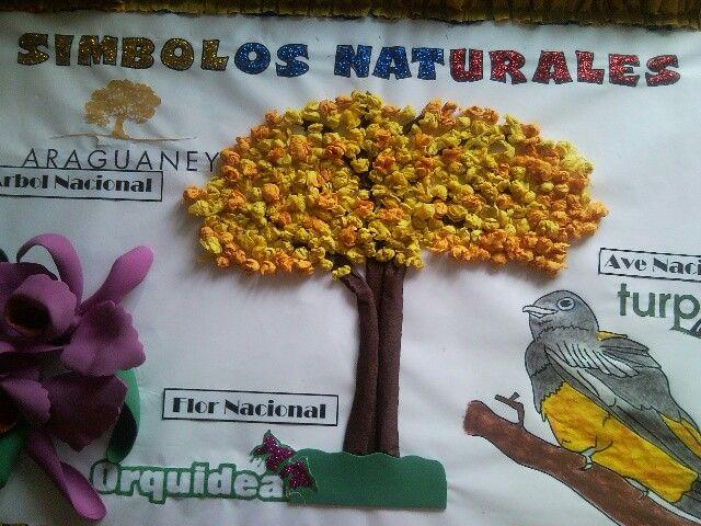 S mbolos naturales venezuela trabajos escolares for Carteleras escolares de reciclaje