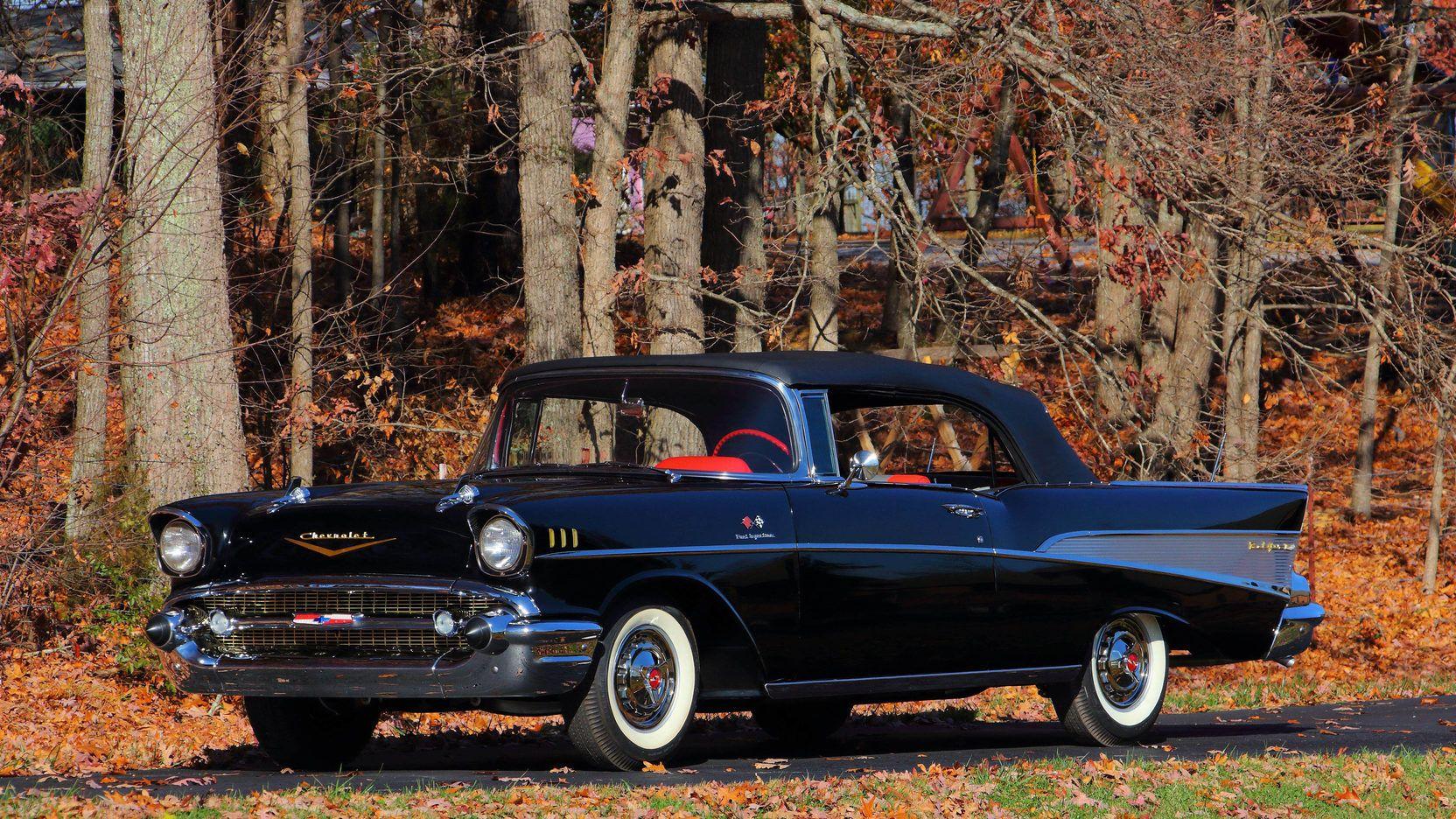 1957 Chevrolet Bel Air Convertible FuelInjected 283/283