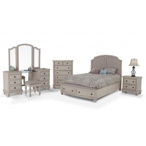 Attirant Euro Cottage 9 Piece King Bedroom Set
