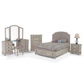 Euro Cottage 9 Piece King Bedroom Set