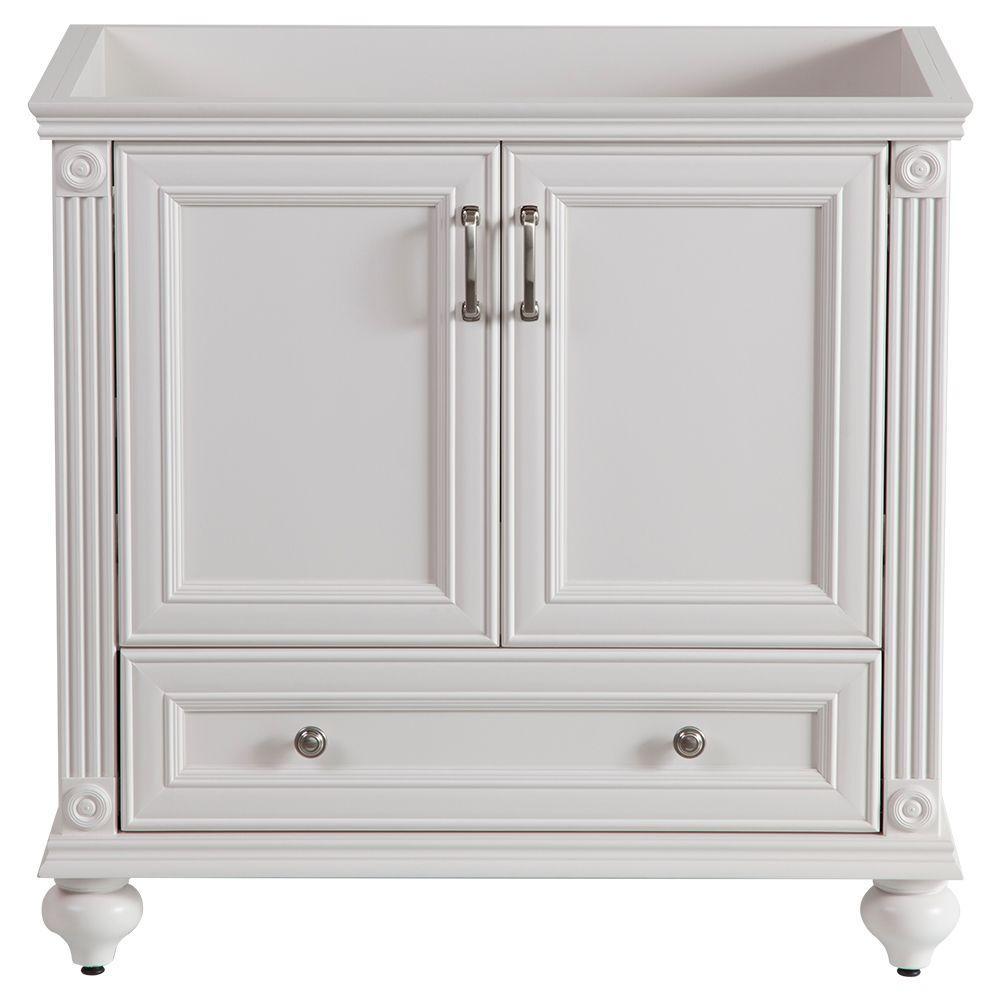 Home Decorators Collection Annakin 36 Inw Bath Vanity Cabinet Extraordinary White Bathroom Vanity Home Depot Design Inspiration
