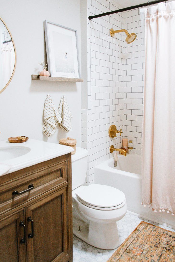 How to Get a Designer Bathroom on a Home Depot Budget | Pinterest ...