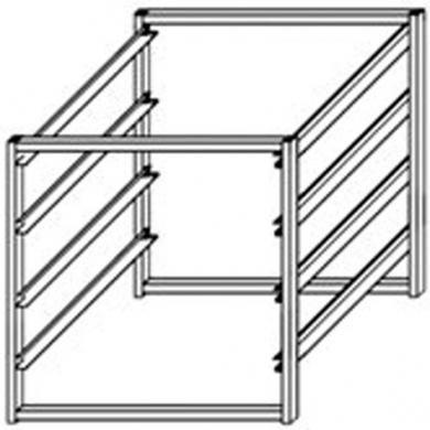 Howards Storage World | White 4 Runner 350mm Mini Frame
