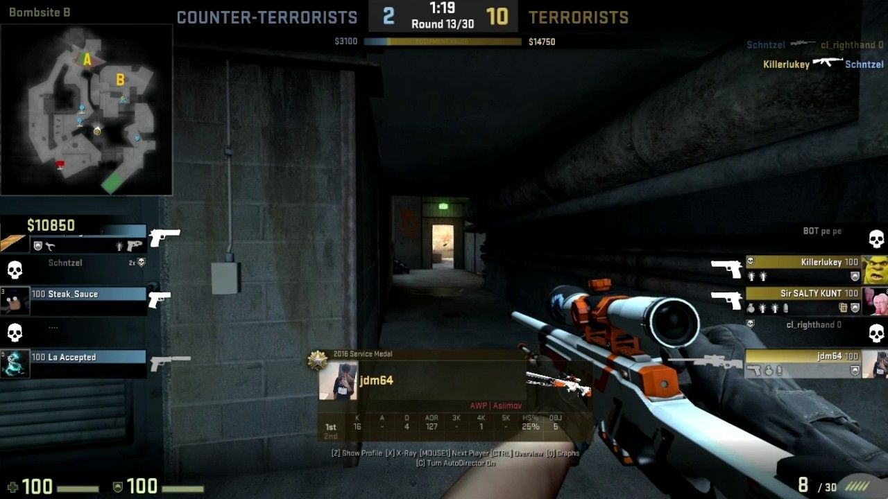 Since everyone is posting vac shots games globaloffensive CSGO