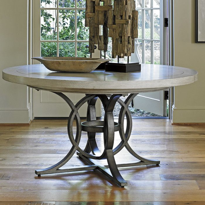 Dining Table Round Pedestal