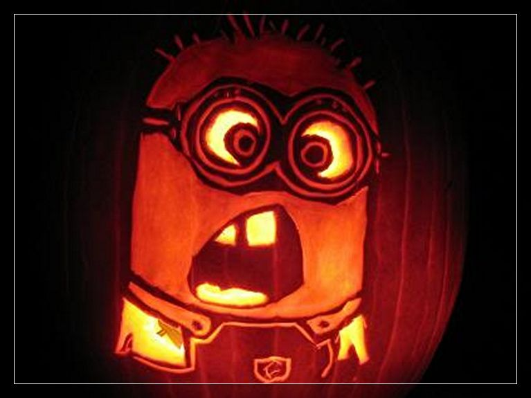 Minion Pumpkins Painting Halloween Pinterest