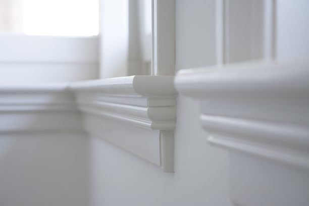 Voorbeeld vensterbank ook mooi als plafond lijst diy meubels