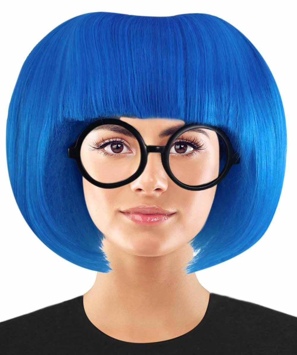 Incredible 2 Fashion Designer Edna Mode Wig Edna Mode Wig With Glasses Set Tv Movie Wigs Premium Breathable Capless Cap Fashion Wigs Fashion Design