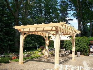 Hampton Bay Pergolas Play with Your Outdoor Style ...