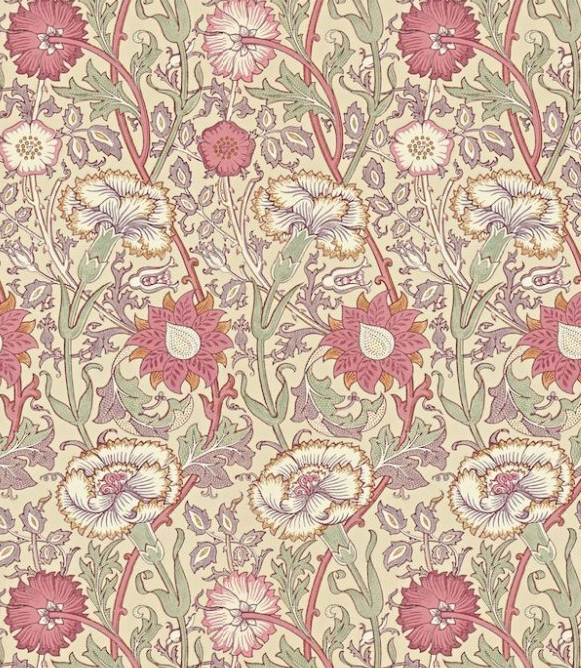Pink & Rose by Morris Wallpaper Direct Rose wallpaper
