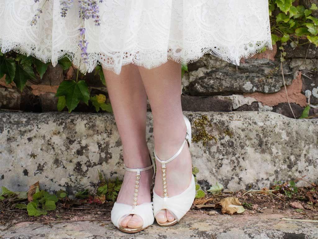 43cb4cf85cd1 Rainbow Club Adrianna - Ivory Tulle and Satin Wedding Sandals