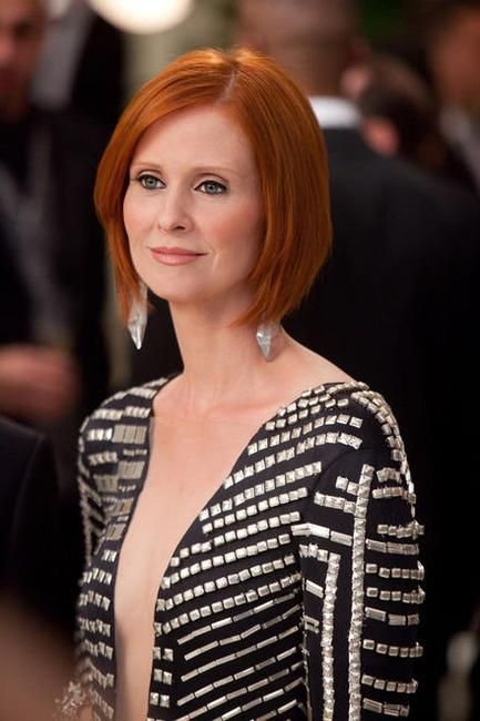 Cynthia Nixon - I just love her, and her hair.
