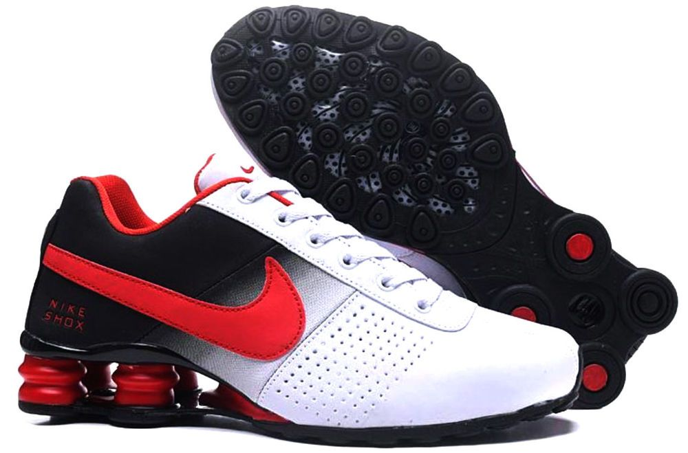Men s Nike Shox Red White   Black Size 9.5  fashion  clothing  shoes   accessories  mensshoes  athleticshoes (ebay link) 4a91f2e831