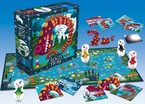 Granna Loch Ness Gra Planszowa Merlin Pl Board Games Toys Ness