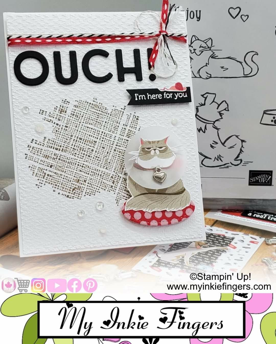 Pin On Playful Pets Suite By Stampin Up