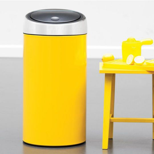 Colorful Kitchen Trash Cans