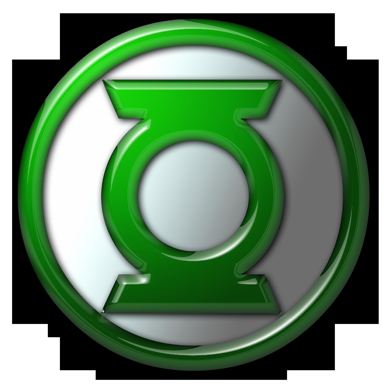 Green Lantern Logo created with Green lantern