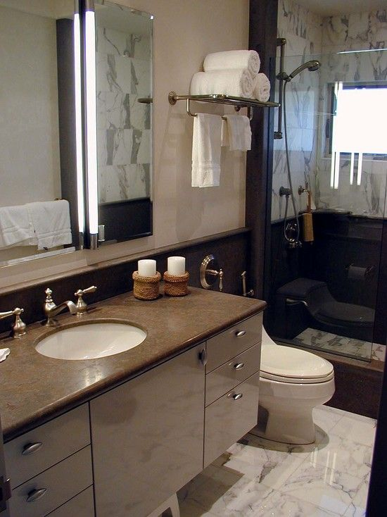 Towel Shelf Design Pictures Remodel Decor And Ideas Note Suspended Vanity Towel Rack Extension Over Redesign Small Bathroom Small Space Bathroom Towel Bar