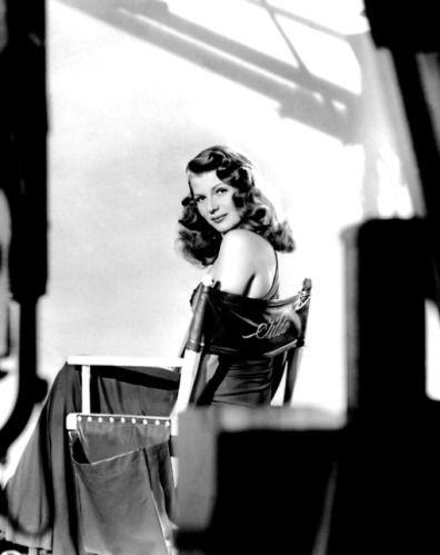 Director's Chair    Rita Hayworth - rita-hayworth Photo