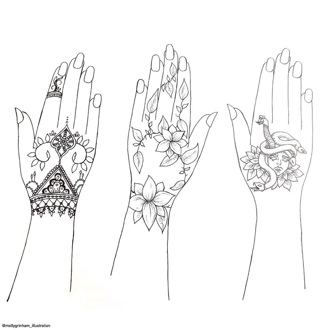 Hand tattoos???????? Really want the middle one