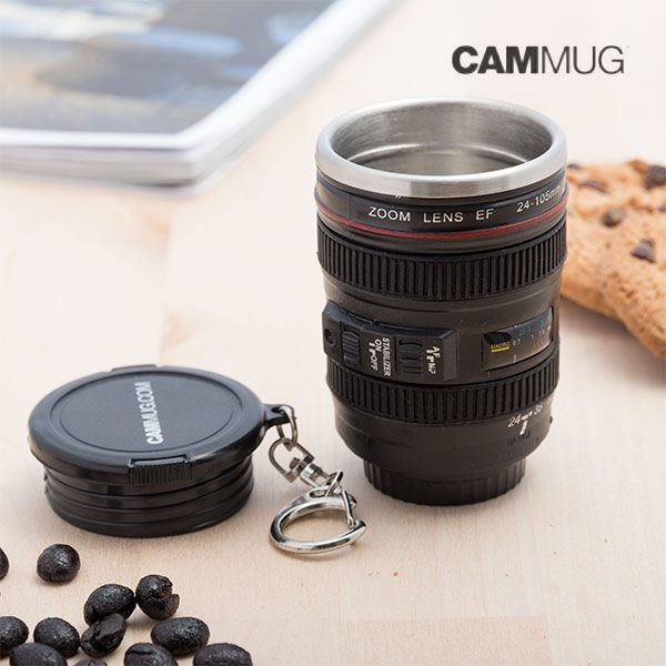 ... Looking For Original Gifts, Get The Original And Practical Cammug Mini  Lens Keychain Mug Now! This Multipurpose Mini Mug Is In The Shape Of A  Camera L