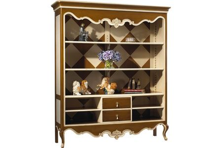 M-1549-402 Raspail Open Bookcase by French Heritage