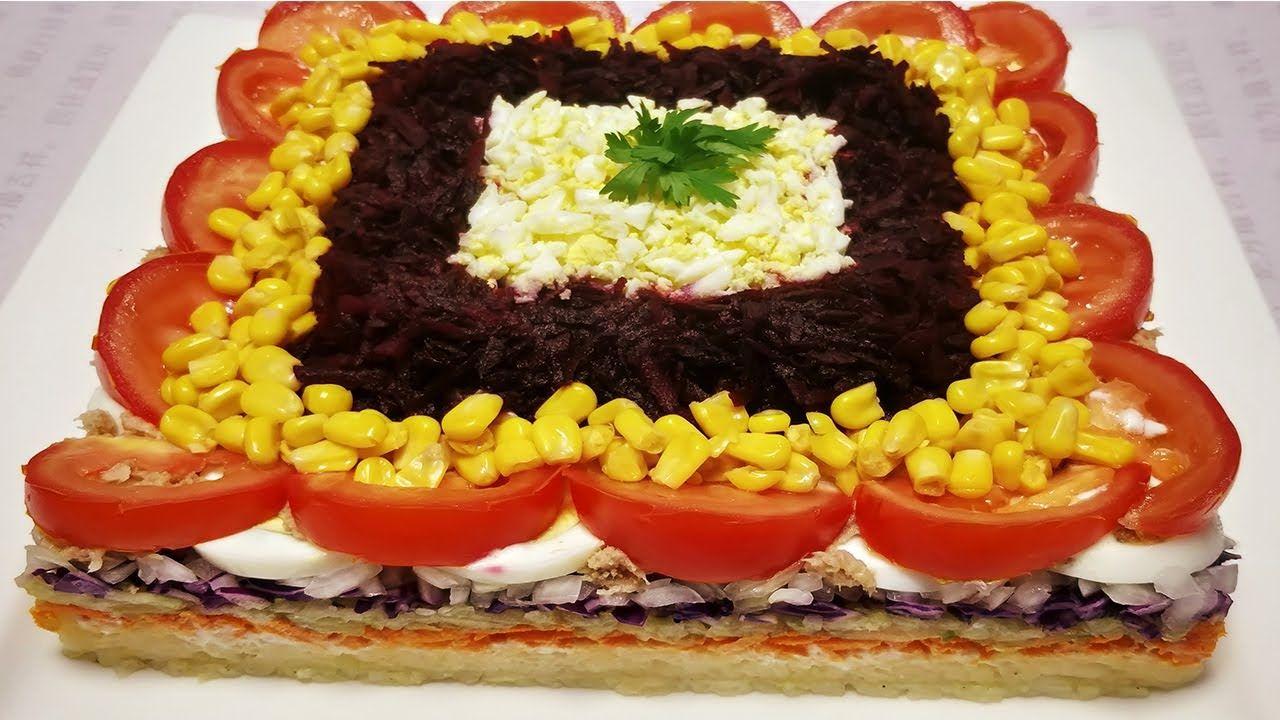 سلطة متنوعة راقية جد شهية قدمها لضيوفك و عائلتك بكل فخر مع صلصة Salad Food Desserts Cake