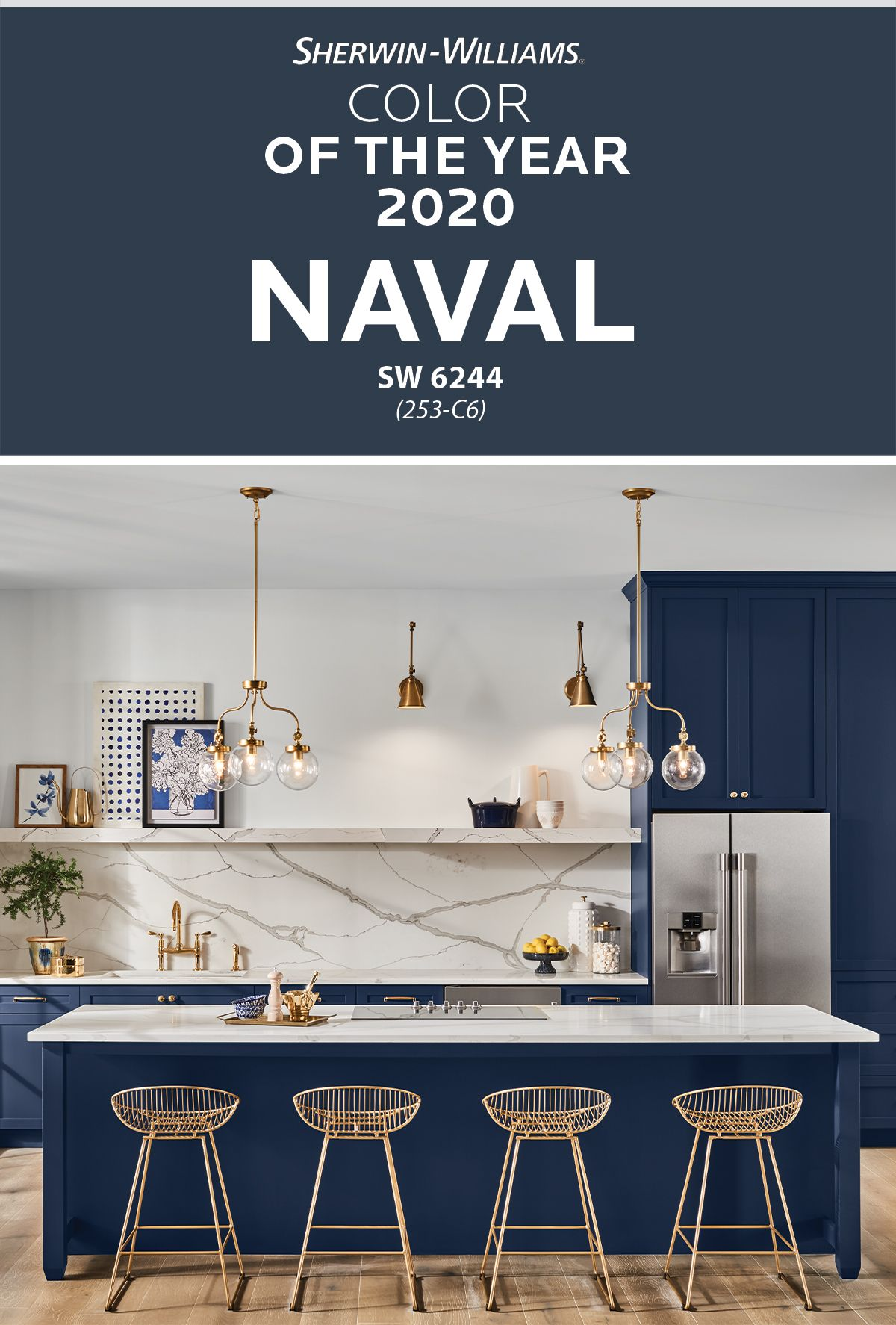 Embrace The Next Decade With The Sherwin Williams 2020 Color Of