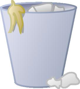 Full Trash Can Clip Art Free Vector Free Clip Art Clip Art Vector Free