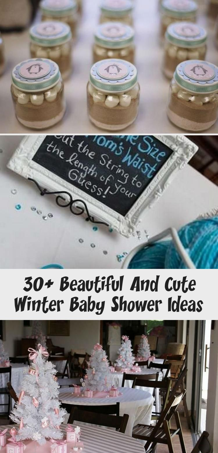 30+ Beautiful And Cute Winter Baby Shower Ideas - health and diet fitness -  30+ Beautiful and Cute...