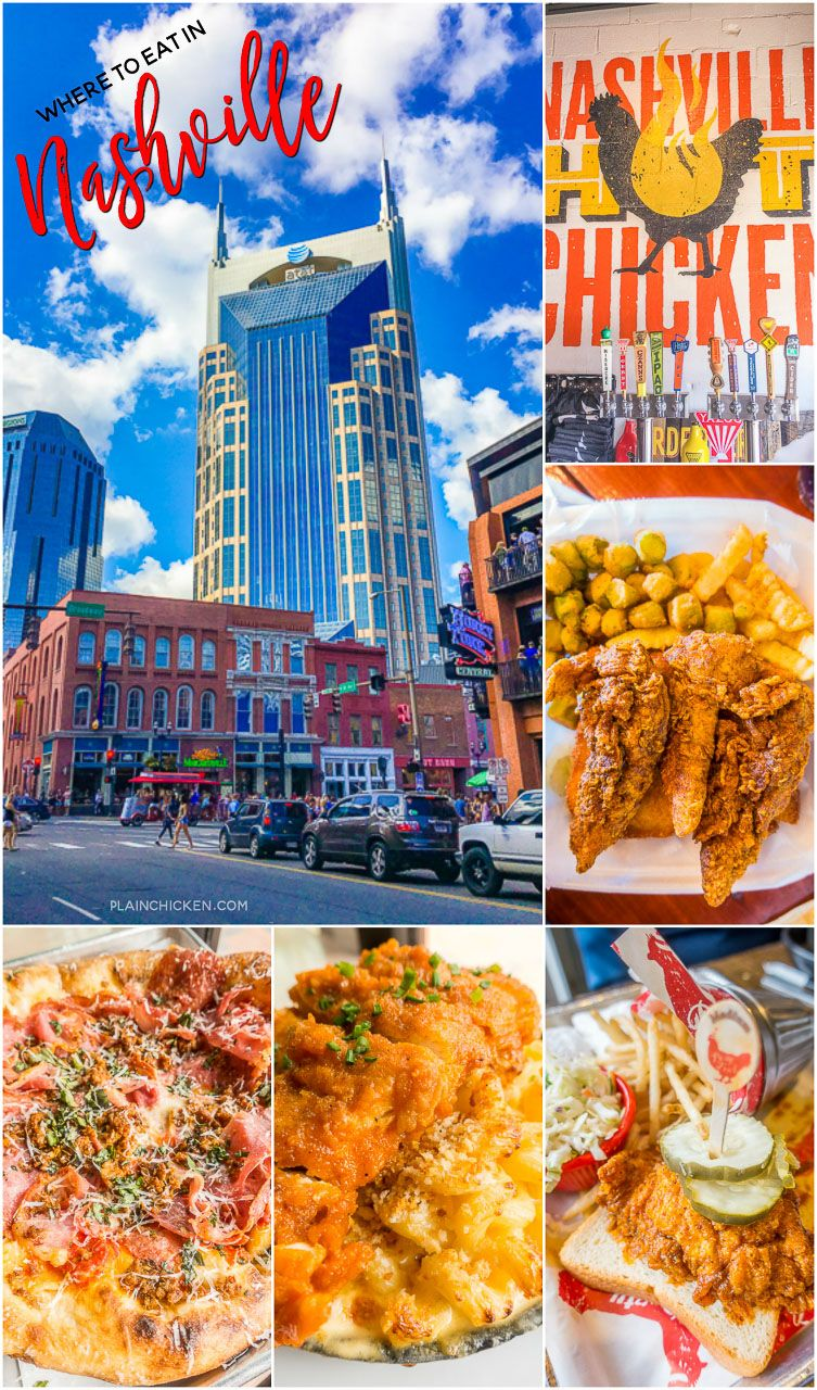 Nashville Tennessee Hot En And Pizza Three Places You Must Try On Your