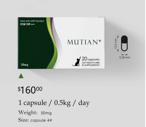 Buy the Cat Health Care Supplements from MUTIAN at the