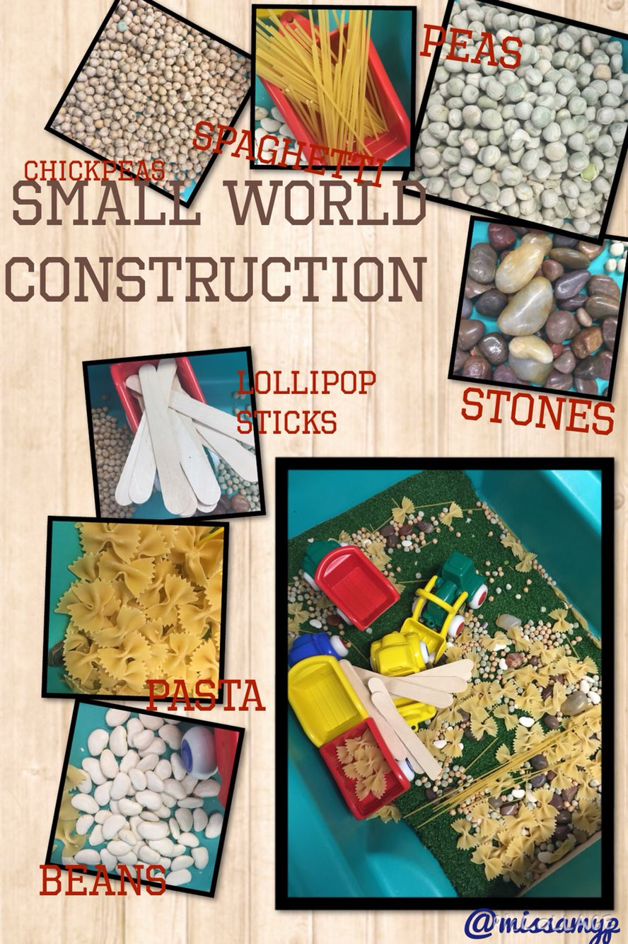 Small world construction with different materials. Would recommend the 'grass' or similar doe noise reduction! (missamyp)