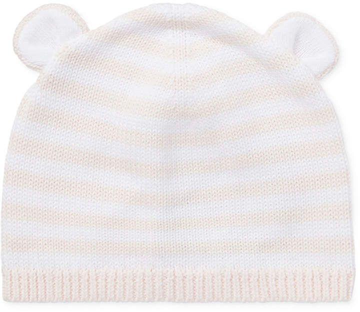 4b613427f6719 Polo Ralph Lauren Ralph Lauren Baby Girls Bear-Ear Cotton Hat ...