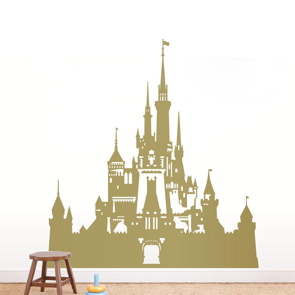 Disney Castle Wall Decal Castle Wall Disney Wall Kids Room