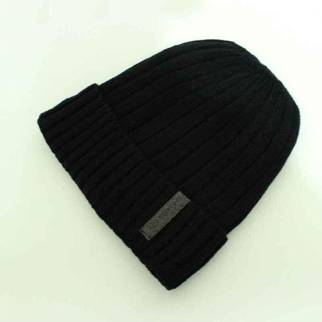 12082e7d4c530b 2016 Brand Beanies Knit Men's Winter Hat Caps Skullies Bonnet Winter Hats  For Men Women Beanie Warm Baggy Outdoor Sports Hat