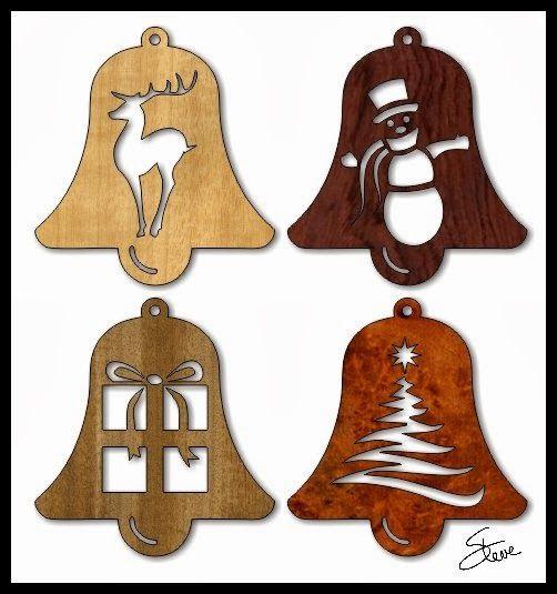 Scrollsaw Workshop: Easy to cut Christmas Ornaments.