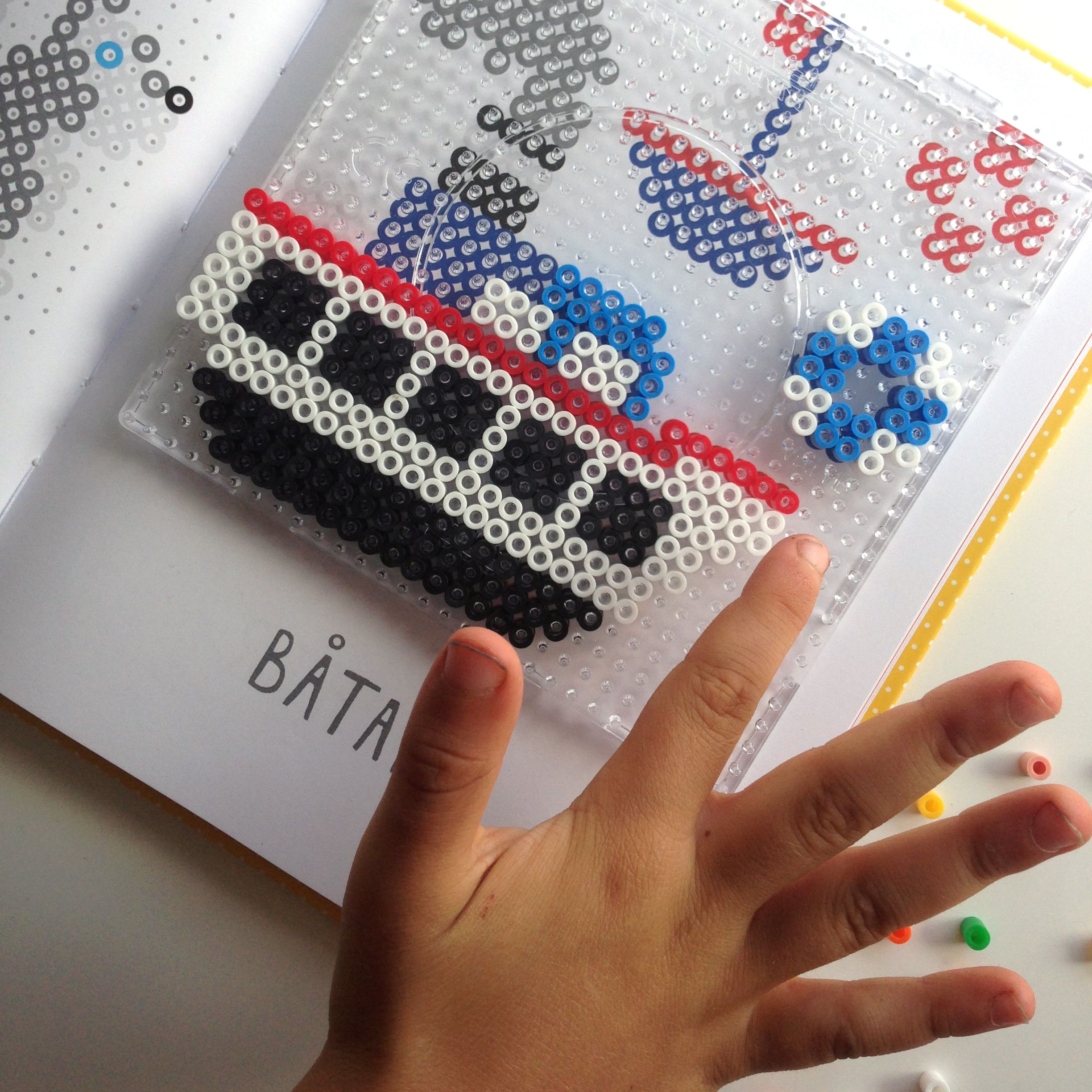 Playful and easy Perler bead patterns book An activity
